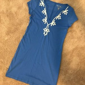 Lilly Pulitzer Brewster T-Shirt Dress Size XS